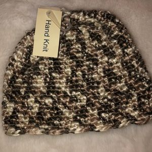 Maurice's hand knit beanie